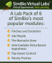 SimBio® Lab Pack Access Card